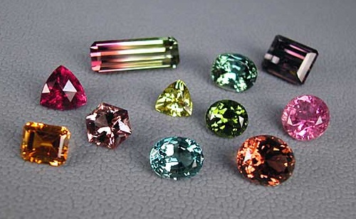 different types of gemstones